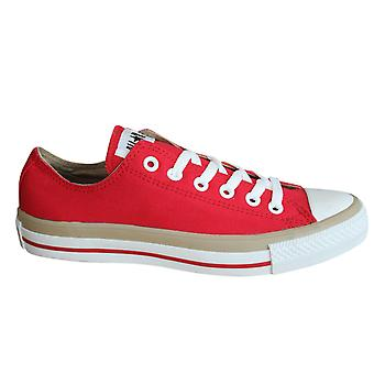 Converse Chuck Taylor CT Fx Ox Mens Trainers Lace Up Shoes Red 102081F D12