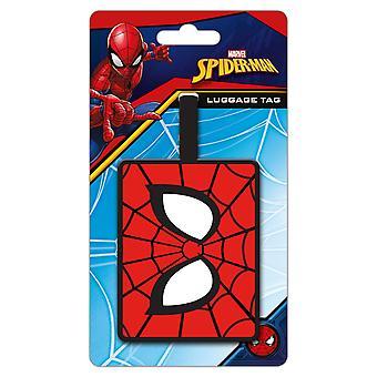 Spider-Man Eyes Bagaj Etiketi