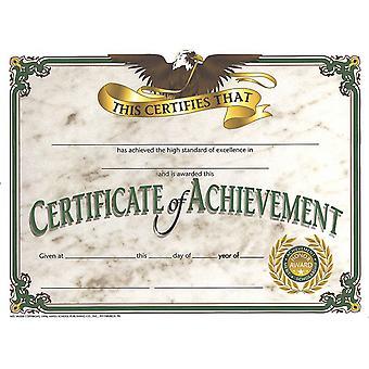 "Certificate Of Achievement, 8.5"" X 11"", Pack Of 30 H-Va508"