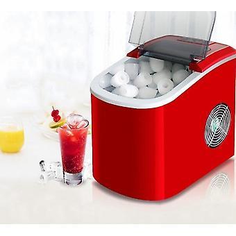 Produttore automatico di cubetti di ghiaccio commerciale, macchina rotonda elettrica portatile