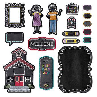 Chalk It Up! Conjunto de tableros del Boletín de Encanto de la Escuela