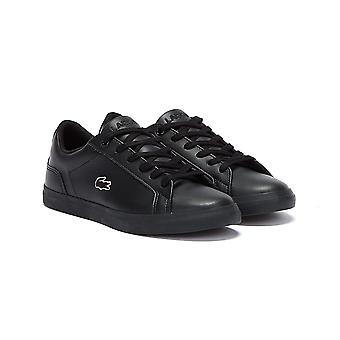 Lacoste Lerond BL 21 1 Junior Black / Black Trainers
