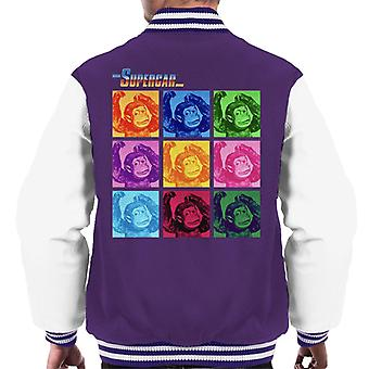 Supercar Mitch The Monkey Men's Varsity Jacket