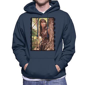 Xena Warrior Princess In The Jungle Men's Hooded Sweatshirt