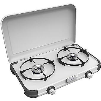 Campingaz Camping Double Burner, Prenosný kempingový plynový sporák - Kuchyňa 2 CV