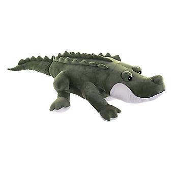 Poliéster de crocodilo fofo Dekodonia (100 x 50 x 20 cm)