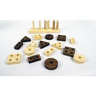 Wood Product Hole, Bultak Geometric Shapes, Wooden Educational Toy