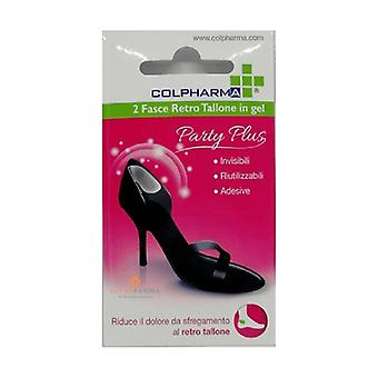 Party Plus Back Heel Band 2 units