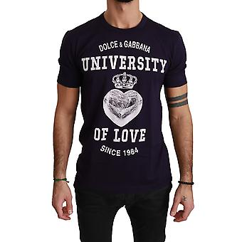 Violetti Crewneck Love Cotton T-paita