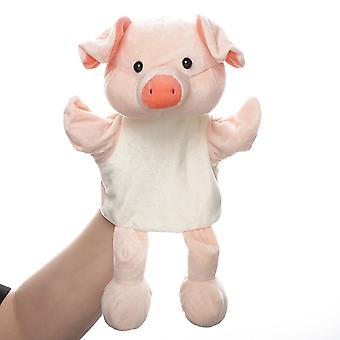 Varkenshandpoppen Dierenspeeltje voor fantasierijk spel, verhalen vertellen, lesgeven, rollenspel