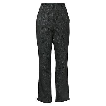 Gloria Vanderbilt Women's Pants High Rise Stretch Amanda Ponte Pant Black