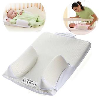 Baby Infant Sleep Positioner Safe Anti Roll Sleep Prevent Flat Head Shape