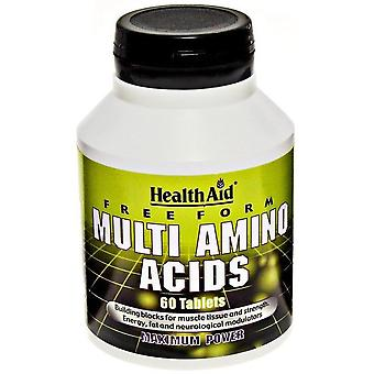 Terveysapu Multi Aminoácido 60 Tabletten Tabletti