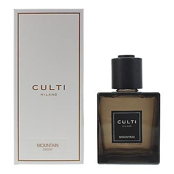 Culti Milano Decor Diffuser 500ml - Mountain - Sticks Not Included In The Box