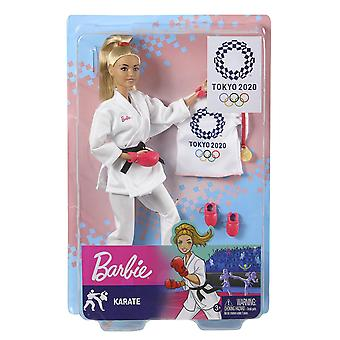 Barbie® Tokyo Olympics 2020 Karate Doll with Accessories