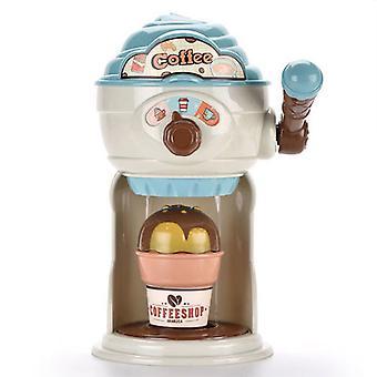 Children's fun ice cream coffee machine toy