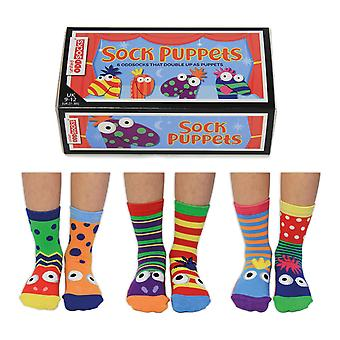 Childrens Sock Puppet Novelty Socks