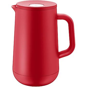 HanFei Impulse Thermoskanne 1l, Isolierkanne für Tee oder Kaffee, Druckverschluss, hält Getränke 24h