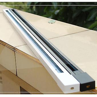 Track Rail Light, Fitting Aluminum Spot Lights Fixture System 2-wire Universal