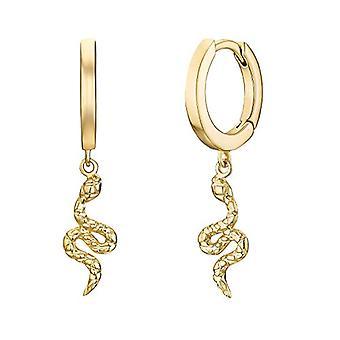 NOELANI Women's hoop earrings, in gold-plated sterling silver 925(1)