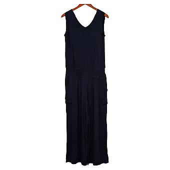 Lisa Rina Collection Jumpsuits One-Piece m/ Lommer Blå