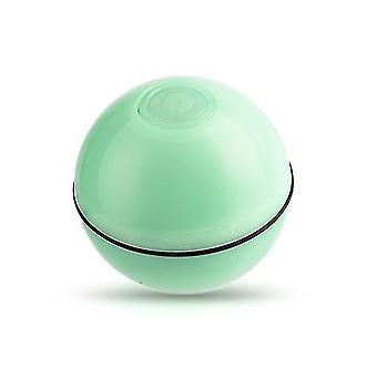 Vihreä sähköinen lemmikkikissa toimittaa led valovoimainen satunnainen pallo USB lataus laser hauska kissa pallo x2757