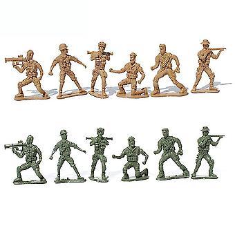 جديد 88pcs الحرب العالمية 2 الجنود العسكريين تعيين شخصيات ساحة المعركة Playset ES12764