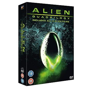 Alien Quadrilogy DVD