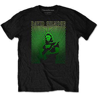 David Gilmour - Rays Gradient Men's Medium T-Shirt - Black