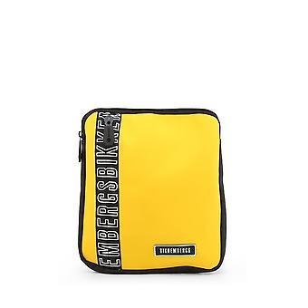 Bikkembergs - Bags - Shoulder bags - E2APME170032030-Yellow - Men - yellow,black