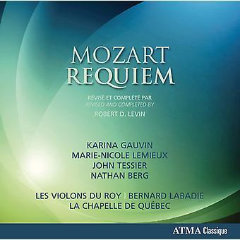Mozart / Les Violons Du Roy / La Chapelle De Quebe - Mozart Requiem [CD] USA import