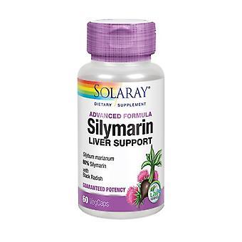 "Solaray סילימארין תמיכה בכבד, 550 מ""ג, 60 כמוסות צמחיות"