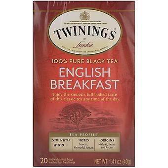 Twining Tea Tea Engl Brkfst, Case of 6 X 20 Bags