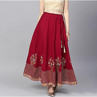 Cotton Leng Ha Skirt