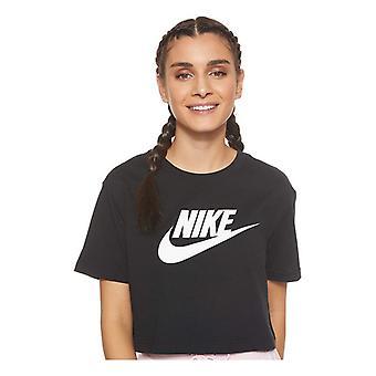 T-shirt nike sportkläder essentiella BV6175 010 Svart