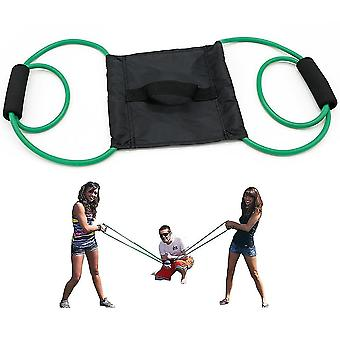 Water Balloon Launcher Beach Durable Party Rope Slingshot Funny Beach Toy(1.5m)