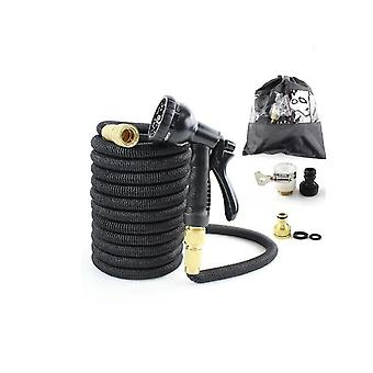Flexible Water Hose With Powerful Nozzle Spray