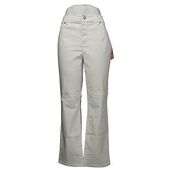 NYDJ Women's Jeans Petite Straight Uplift en Cool Embrace White A395678