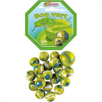 Kimplay 20 + 1 Green Boa Balls