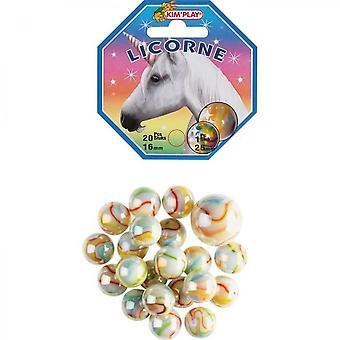 Kimplay 20 + 1 Unicorn Balls