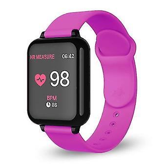 Smart Watch, Men, Women, For Ios, Android Phone, Heart Rate, Blood Pressure,(Roe Pink)