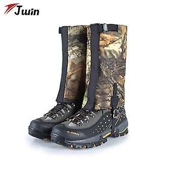 Snow leg gaiters outdoor boots cover waterproof ultralight gaiters leg protection guard for hiking climbing trekking