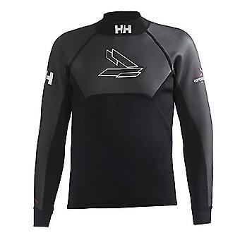 Helly Hansen Pitkähihaiset Miesten Uinti Triathlon Märkäpuku Top Musta