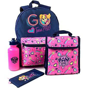 Ensemble de sacs à dos Paw Patrol Girls (paquet de 4)
