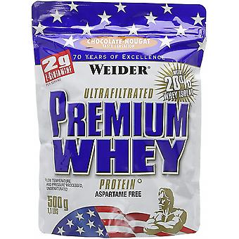 Premium Whey, Chocolate Nougat - 500 grams
