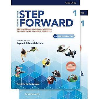 Pas en avant : Niveau 1 : Livre de l'élève/Cahier d'exercices avec pratique en ligne (Pas en avant)