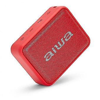 Audio video receiver accessories bs-200 red wireless portable bluetooth speaker