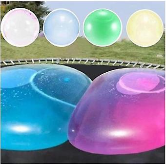 Homemiyn Dzieci Bubble Ball Zabawka Nadmuchiwana Piłka wodna Miękka Gumowa Kula Galaretki Balon Kulki dla dzieci Outdoor Party