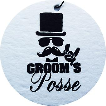 Posse Car Air Freshener du marié