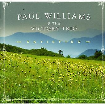 Paul Williams & the Victory Trio - Satisfied [CD] USA import